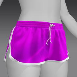 Short shorts Fuchsia