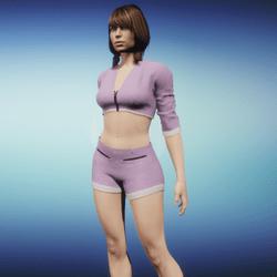 Outfit Jaiyana purple