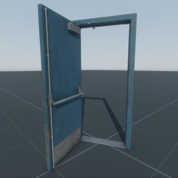 Door Emergency Single (B16L)