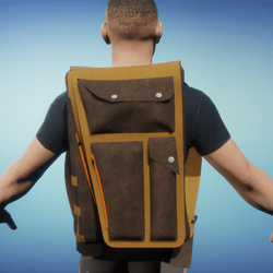 Men's Leather Backpack-01