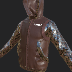 BOS JACKET EMISSIVE BROWN