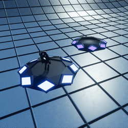 HOVER DISC-ANIMATED FLOATING HANGOUT(scriptable)