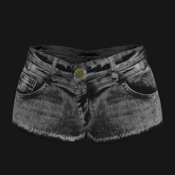 Female Hot Pants Jeans