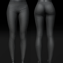 Soft Leggings - Dark Gray