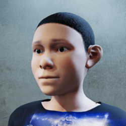 Sansar Kid Clone - DarkHair