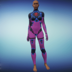 BioArmor ZV01 Body Female Pink