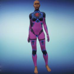 BioArmor ZV01 Body Female Pink
