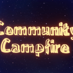 Community Campfire Sign