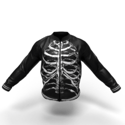 SkuLL Jacket male