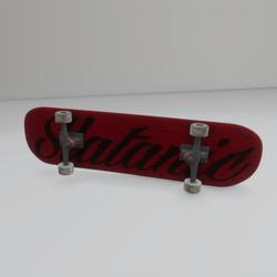 slatanic skateboard