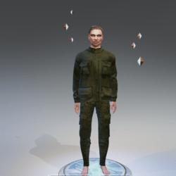 military uniform man