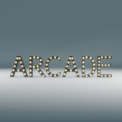Arcade Marquee Blinking Sign