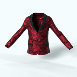 Men's Blazer Red