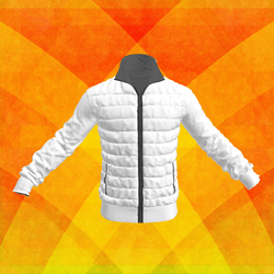 Down-sweater-jacket White