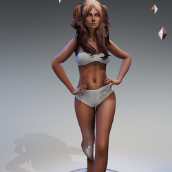 Sexy Model Pose 10
