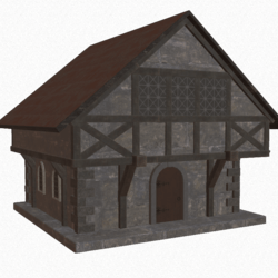 Medieval Stone Building A