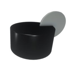 Coin-slotted Knob