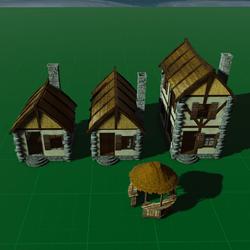 Thatch Building Set
