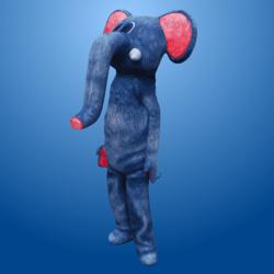 Blue Elephant Costume