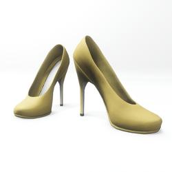"High heel pumps for ""Alina Daisy highheels"" and ""Nicci"" avatar - yellow"