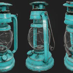 Oil Lamp C