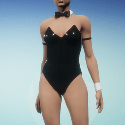 Sexy Bunny Suit - Black
