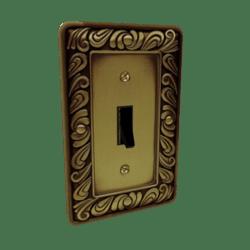 Ornate Light Switch