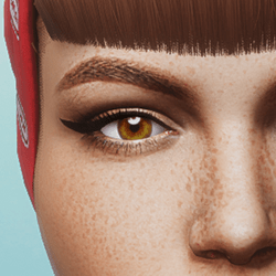 Eyes - Brown - Women's