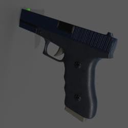 G17 Pistol Replica (Attaches to wrist)