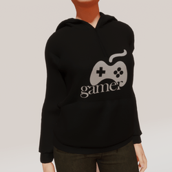 esport women's gamer hoodie