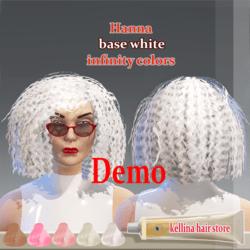 hanna demo-white base -infinity colors