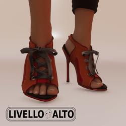 Savage Lace Tumeric Heels
