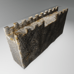 Basic Stone Wall - opening