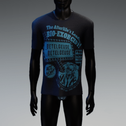 BioExorcist T-Shirt Navy Blue