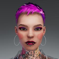 Daphne Valentine Makeup Venus