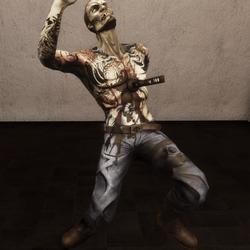 Zombie Falling Death NPC