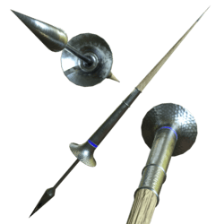 Medieval Lance Blue