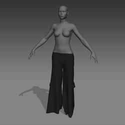 Baggy Pants Female