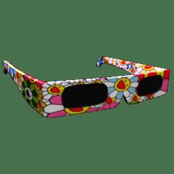 Female Colorful Glasses