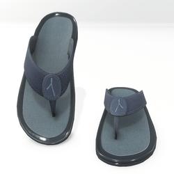 Thong sandals for male AV 2 - blue