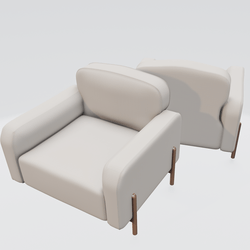 Hero Lounge Chair Beige