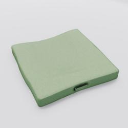 Floor Cushion With Handle Green