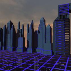 SCI-FI BUILDING -