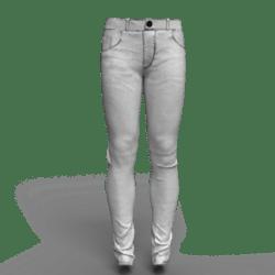 Jeans B-White male