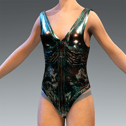 Swimsuit Ancient Bronz Statue