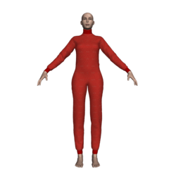 Female Bodysuit Jammies (Strawberry)