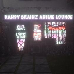 Kandy Brainz Anime Lounge Store Front Facade