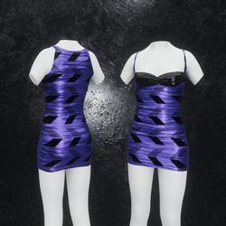 Dress Joy Arrow purple