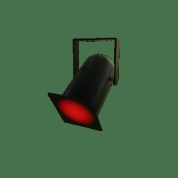 Red Par Can Light