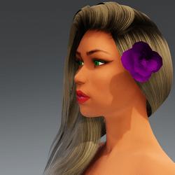 Rose for Hair #7